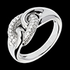 Ring weisgold Diamant